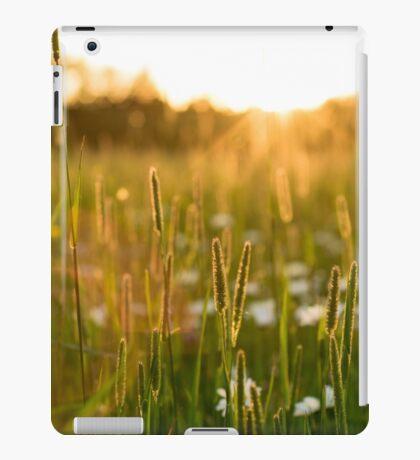 龢.field∆sunseT弗∞ iPad Case/Skin