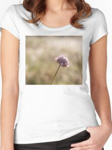 Field Scabious Women's Fitted Scoop T-Shirt