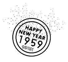 Happy New Year 1959 by Nepredator