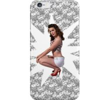 Pin Up Star iPhone Case/Skin