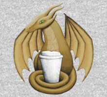 Latte Dragon (green eye) Baby Tee