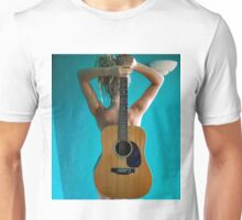 Curves of the guitar Unisex T-Shirt