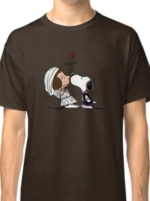 Snoopy Lucy Star Wars Classic T-Shirt