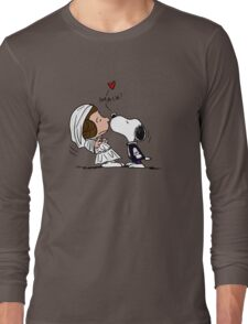 Snoopy Lucy Star Wars Long Sleeve T-Shirt