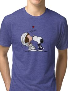 Snoopy Lucy Star Wars Tri-blend T-Shirt