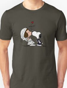 Snoopy Lucy Star Wars T-Shirt