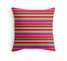 Bright Stripes - Pattern Throw Pillow