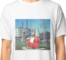 The First British Nuclear Power Station. Classic T-Shirt