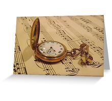 Timeless Music Greeting Card