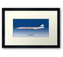 Concorde 002 G-BSST Framed Print