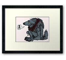 Werewolf Grumpies Framed Print