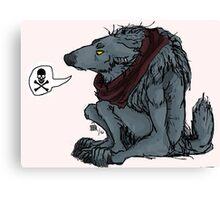 Werewolf Grumpies Canvas Print