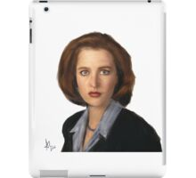 Special Agent Dana Scully iPad Case/Skin