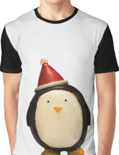 Penguin Claus Graphic T-Shirt