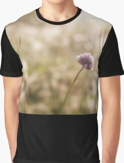 Field Scabious flower Graphic T-Shirt