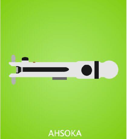 Ahsoka's Lightsaber Sticker