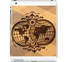 Map of the world  iPad Case/Skin