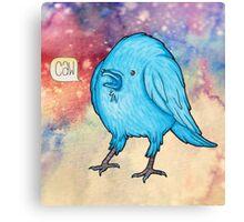 Riley the Raven Canvas Print