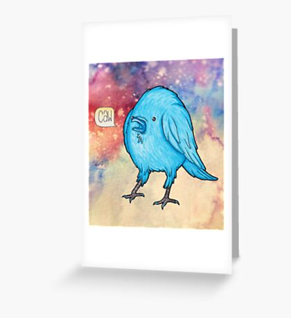 Riley the Raven Greeting Card