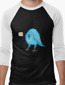 Riley the Raven Men's Baseball ¾ T-Shirt