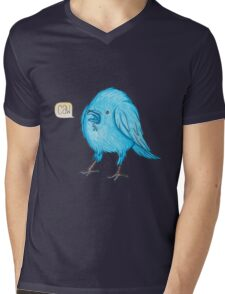Riley the Raven Mens V-Neck T-Shirt