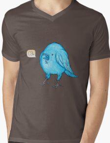 Riley the Raven Mens V-Neck T-Shirt