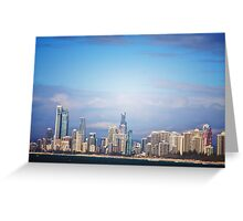 Thats what i call a skyline Greeting Card