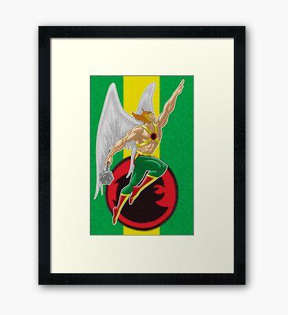 Hawkman Framed Print