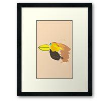Bird is the Word. Framed Print