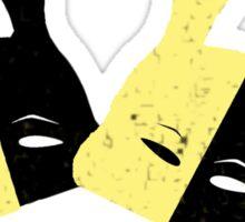 Bioshock Masquerade Ball (Yellow and black) Sticker