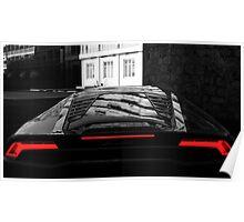 Lamborghini Hurrican Poster