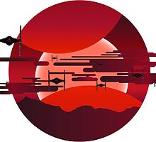 Jakku Bound - Star Wars by TrendSpotter