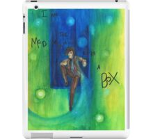 DW: I am a Mad Man with a Box iPad Case/Skin