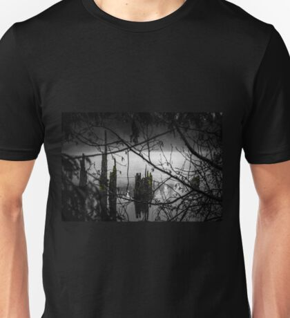 Peering out from the Wood Unisex T-Shirt