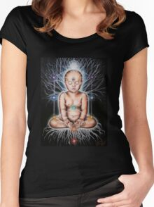 Sacred Tree of Life Women's Fitted Scoop T-Shirt