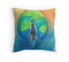 DW: I am the Wandering Doctor Throw Pillow
