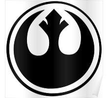 Star Wars Rebel Alliance Logo Poster