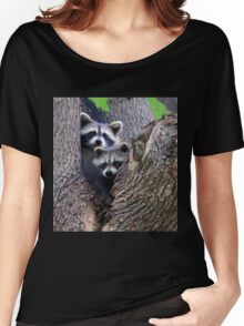 Raccoons  Women's Relaxed Fit T-Shirt