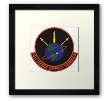 45th Launch Support Squadron Logo Framed Print
