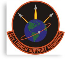 45th Launch Support Squadron Logo Canvas Print