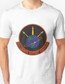 45th Launch Support Squadron Logo T-Shirt
