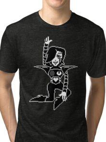 Mettaton - Undertale Tri-blend T-Shirt