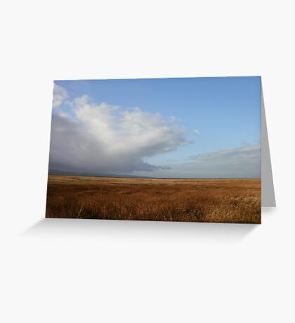 Parkgate View, Wirral Greeting Card