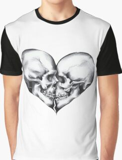 Skull love Graphic T-Shirt