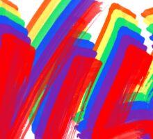 Rainbow WILD Logo from Troye Sivan Sticker