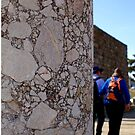 Conglomerate column ~ Pergamon, Turkey by Jan Stead JEMproductions