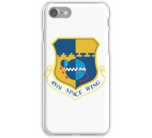 45th Space Wing Logo iPhone Case/Skin