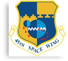 45th Space Wing Logo Canvas Print