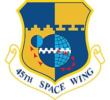 45th Space Wing Logo Photographic Print