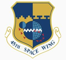 45th Space Wing Logo Kids Tee